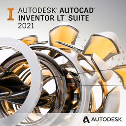 autocad inventor lt suite 2021 badge 256px