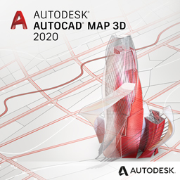 autocad map 3d 2020 badge 256px