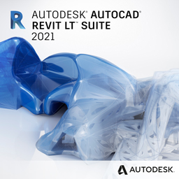 autocad revit lt suite 2021 badge 256px