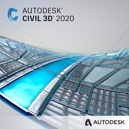 civil 3d 2020 badge 256px