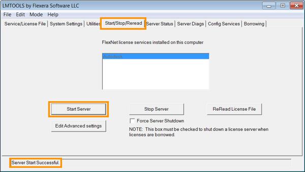 Configurarea Managerului de licențe Autodesk pentru rețea